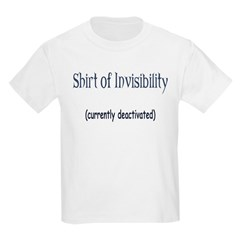 Shirt of Invisibility - curre Kids Light T-Shirt
