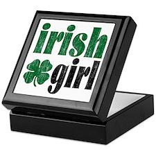 Irish Girl Keepsake Box