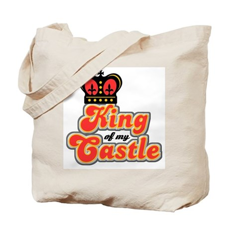 King Of My Castle Tote Bag