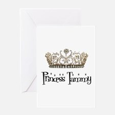 Princess Tammy Greeting Card