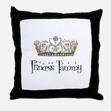 Princess Tammy Throw Pillow