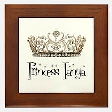 Princess Tanya Framed Tile