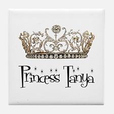 Princess Tanya Tile Coaster