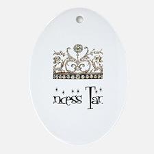 Princess Tanya Oval Ornament
