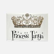 Princess Tanya Rectangle Magnet