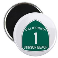 Stinson Beach, California Hig Magnet