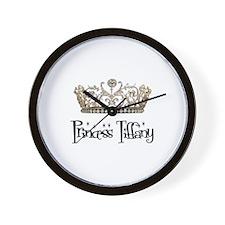 Princess Tiffany Wall Clock