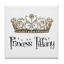 Princess Tiffany Tile Coaster