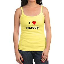 I Love macey Ladies Top