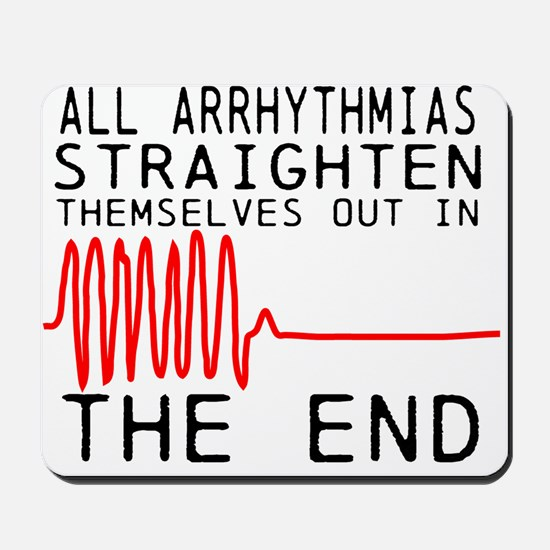 Arrhythmias Mousepad