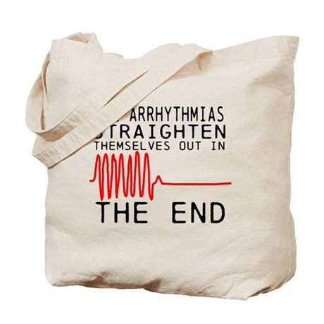 Arrhythmias Tote Bag