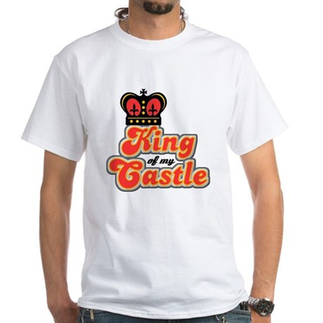 King Of My Castle White T-Shirt