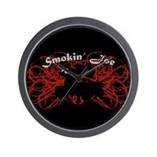 Smokin' Joe Wall Clock