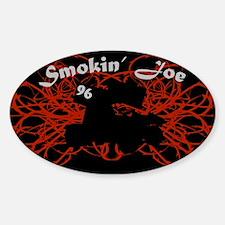 Smokin' Joe Oval Decal