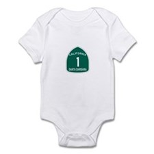 Santa Barbara, California Hig Infant Bodysuit