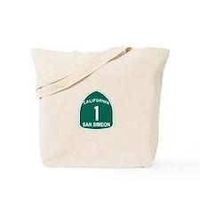 San Simeon, California Highwa Tote Bag