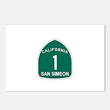 San Simeon, California Highwa Postcards (Package o