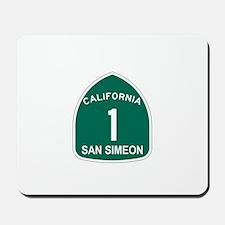 San Simeon, California Highwa Mousepad