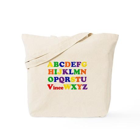Vince - Alphabet Tote Bag