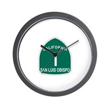 San Luis Obispo, California H Wall Clock