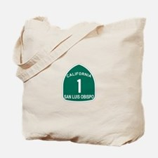 San Luis Obispo, California H Tote Bag