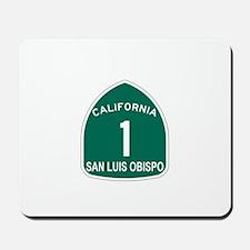 San Luis Obispo, California H Mousepad
