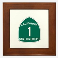 San Luis Obispo, California H Framed Tile