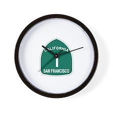 San Francisco, California Hig Wall Clock