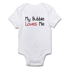My Bubbie Loves Me Baby Onesie