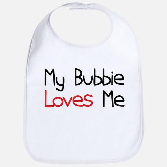 My Bubbie Loves Me Baby Bib
