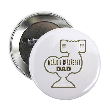 World's Strongest Dad Button