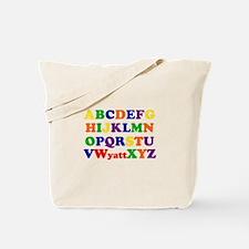 Wyatt - Alphabet Tote Bag