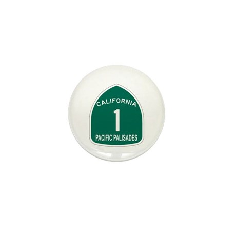 Pacific Palisades, California Mini Button (100 pac