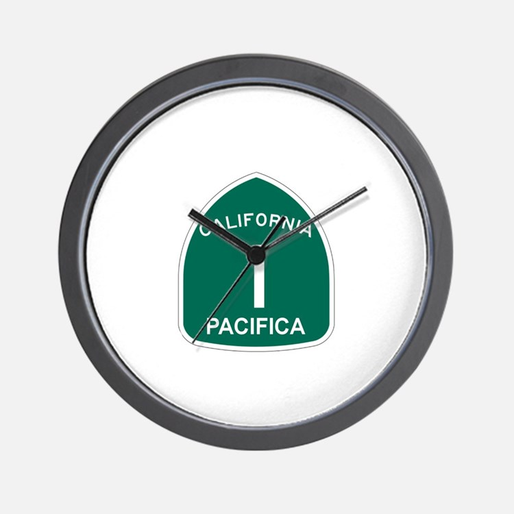 Pacifica, California Highway Wall Clock
