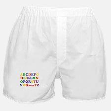Xavier - Alphabet Boxer Shorts