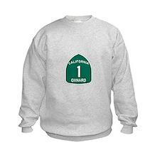 Oxnard, California Highway 1 Sweatshirt