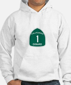 Oxnard, California Highway 1 Hoodie