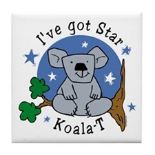 Star Koala-T Tile Coaster