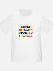 Zachary - Alphabet T