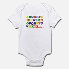 Zachary - Alphabet Infant Bodysuit