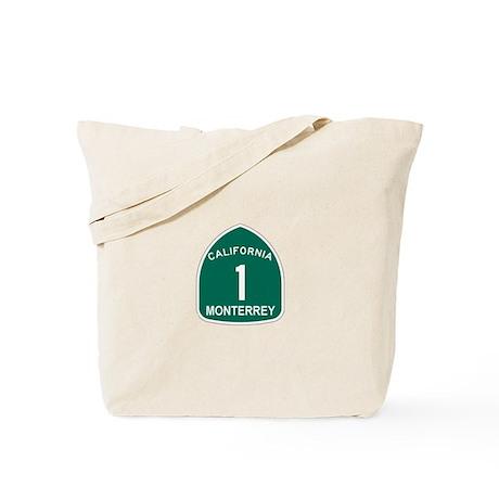 Monterrey, California Highway Tote Bag