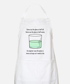 The Glass is Too Large BBQ Apron