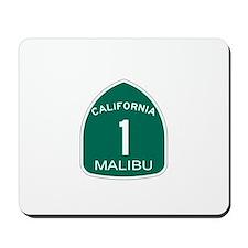 Malibu, California Highway 1 Mousepad