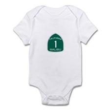 Malibu, California Highway 1 Infant Bodysuit