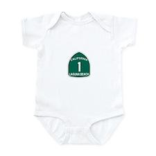 Laguna Beach, California High Infant Bodysuit