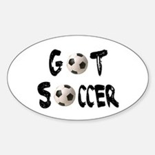Got Soccer Oval Decal