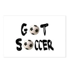 Got Soccer Postcards (Package of 8)