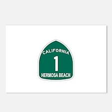 Hermosa Beach, California Hig Postcards (Package o