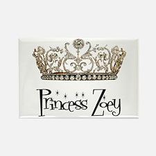 Princess Zoey Rectangle Magnet