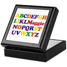 Maggie - Alphabet Keepsake Box